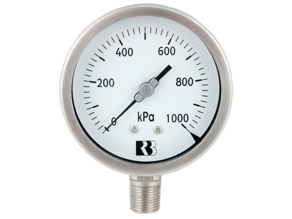 P252_100mm_SS_Pressure_Gauge_1